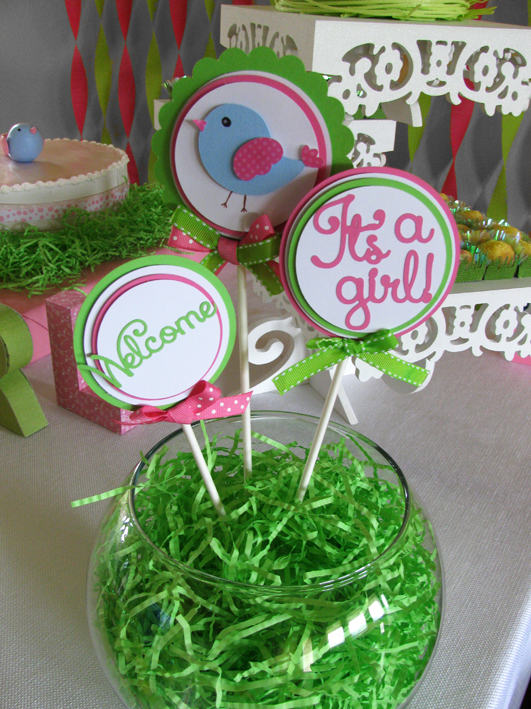 Baby Shower: Birds