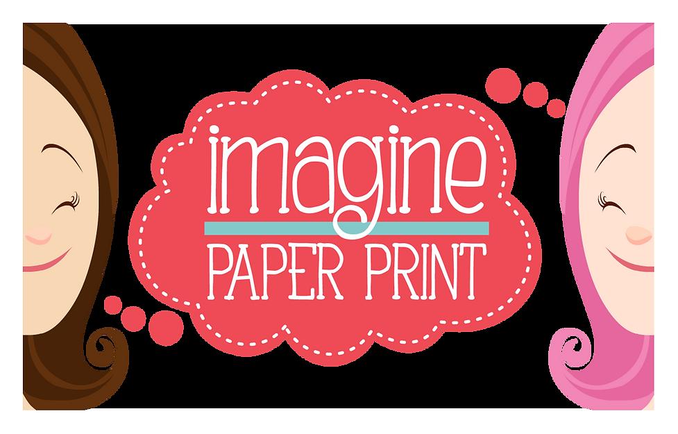 IMAGINE - Paper Print - Lembrancinhas para festas. Custom party favor