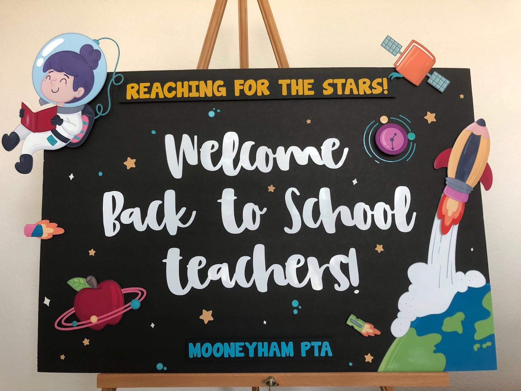 PTA Welcome Sign
