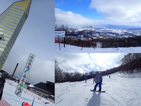 今シーズン初!雪山ツアーへ行ってきました♪
