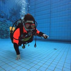 DiveAwardリフレッシュ練習会 inペガサス乗馬クラブダイビングプール2021年6月21日