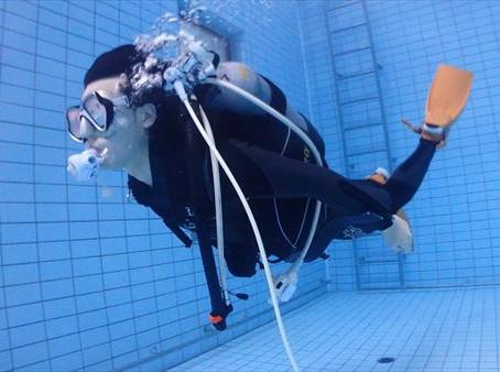 DiveAward ダイビングプール練習会・スキンダイビング