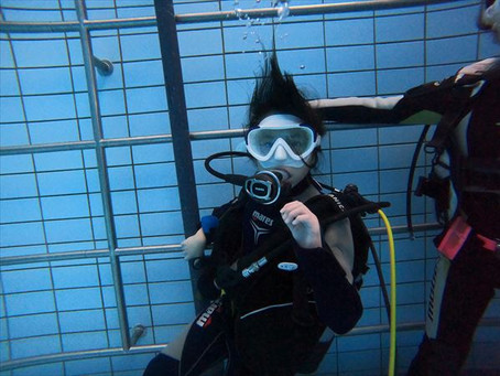 DiveAwardオープンウォータープール講習!!
