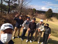 DiveAward函南ゴルフコンペ 1月22日