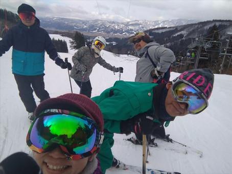 野沢温泉スキーツアーへ行ってきました♪