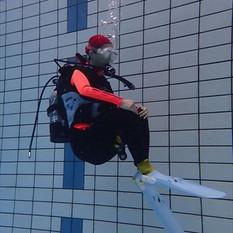 ダイビングリフレッシュプール練習会