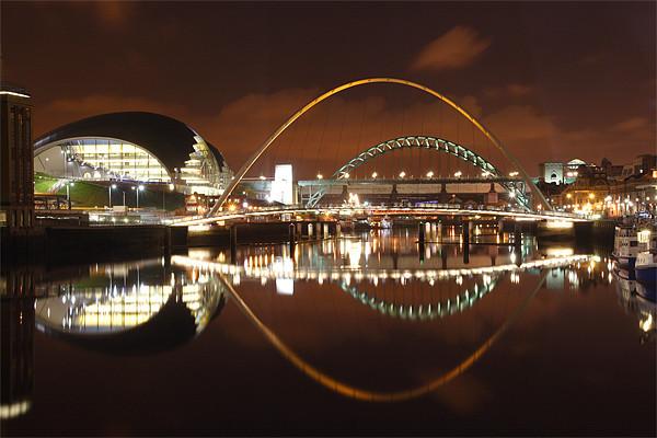 Newcastle Quayside @ night