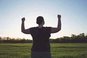 Body positive, freedom, high self esteem