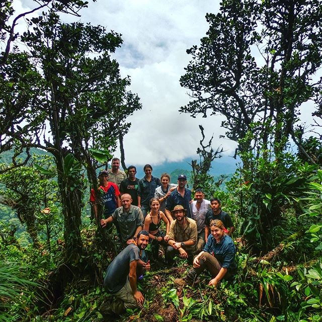 The Jungle Team traversing from the Paci