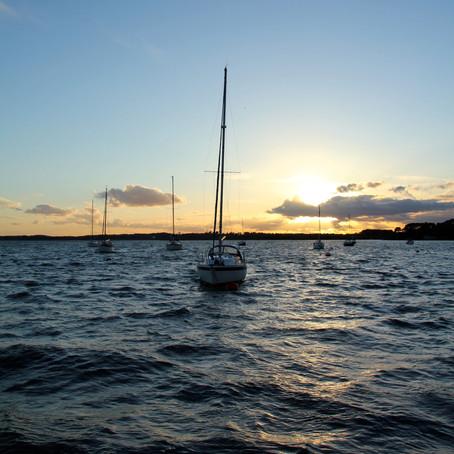 Sailing the South Coast - Hamble to Poole.