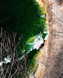 Green Lake Water #crashingwaves #picture