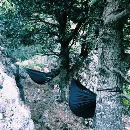 Camping in the Mountains - Mallorca