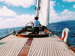 So special sailing this beautiful boat #