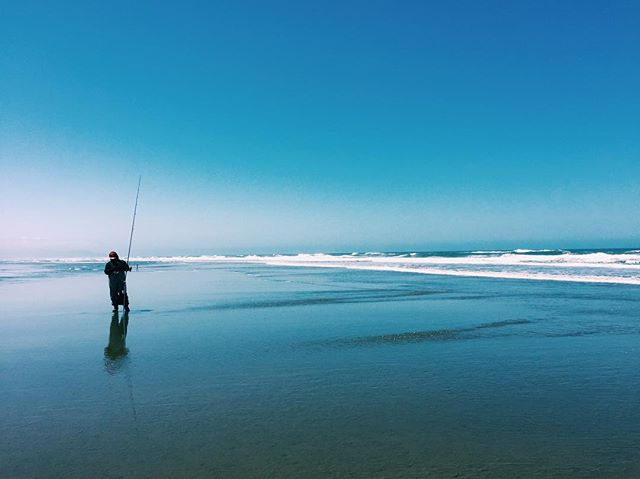 Fishing in the Pacific Ocean #sanfrancis