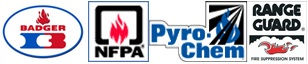 Badger NFPA Pyro Chem Range Guard County Wide Extinguisher Fire Protection