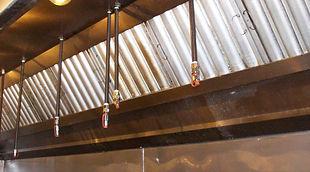 Restaurant Kitchen Fire Suppression Inspection Sales Service