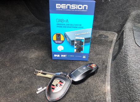 Dension DAB A - Universal DAB Digital radio add on for all vehicles.