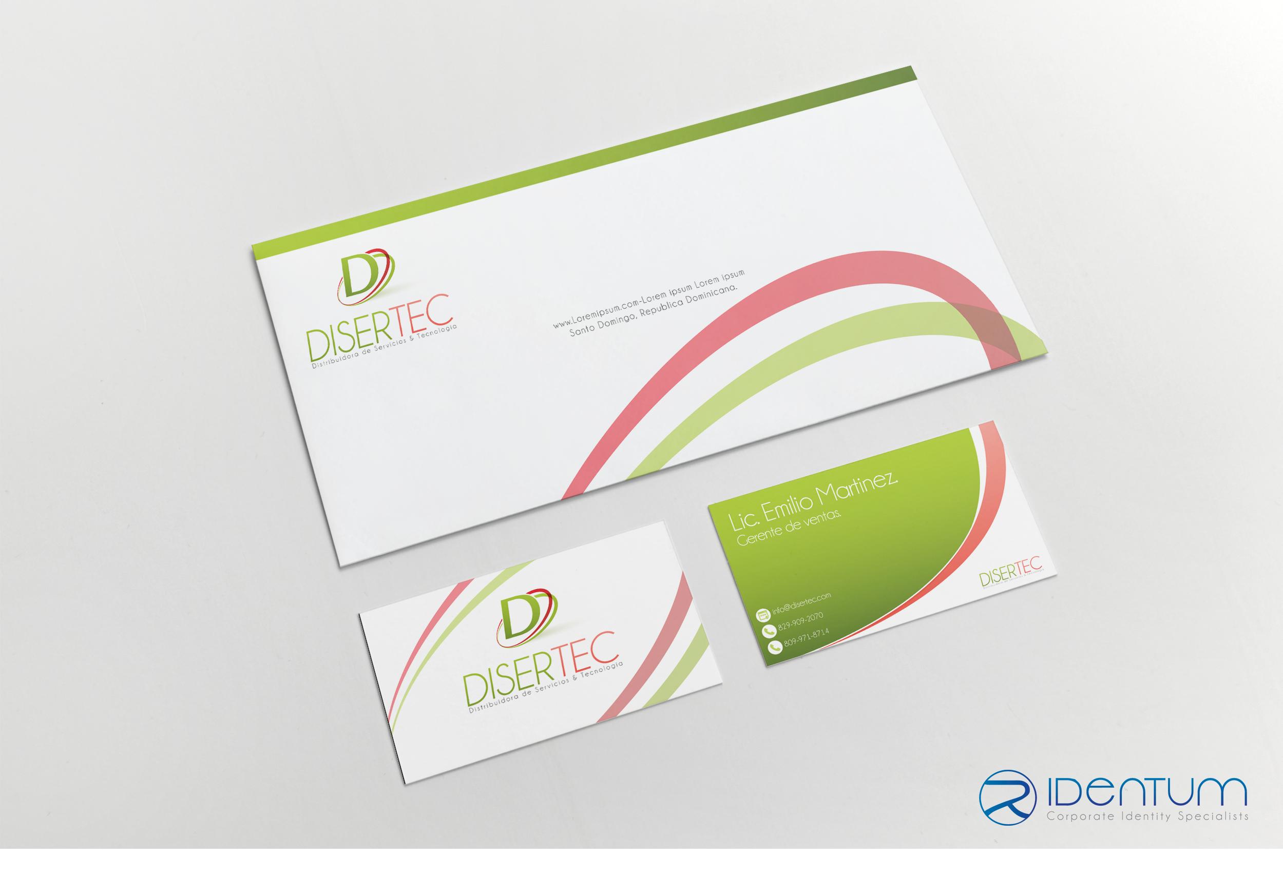 Envelope y Tarjeta de negocios