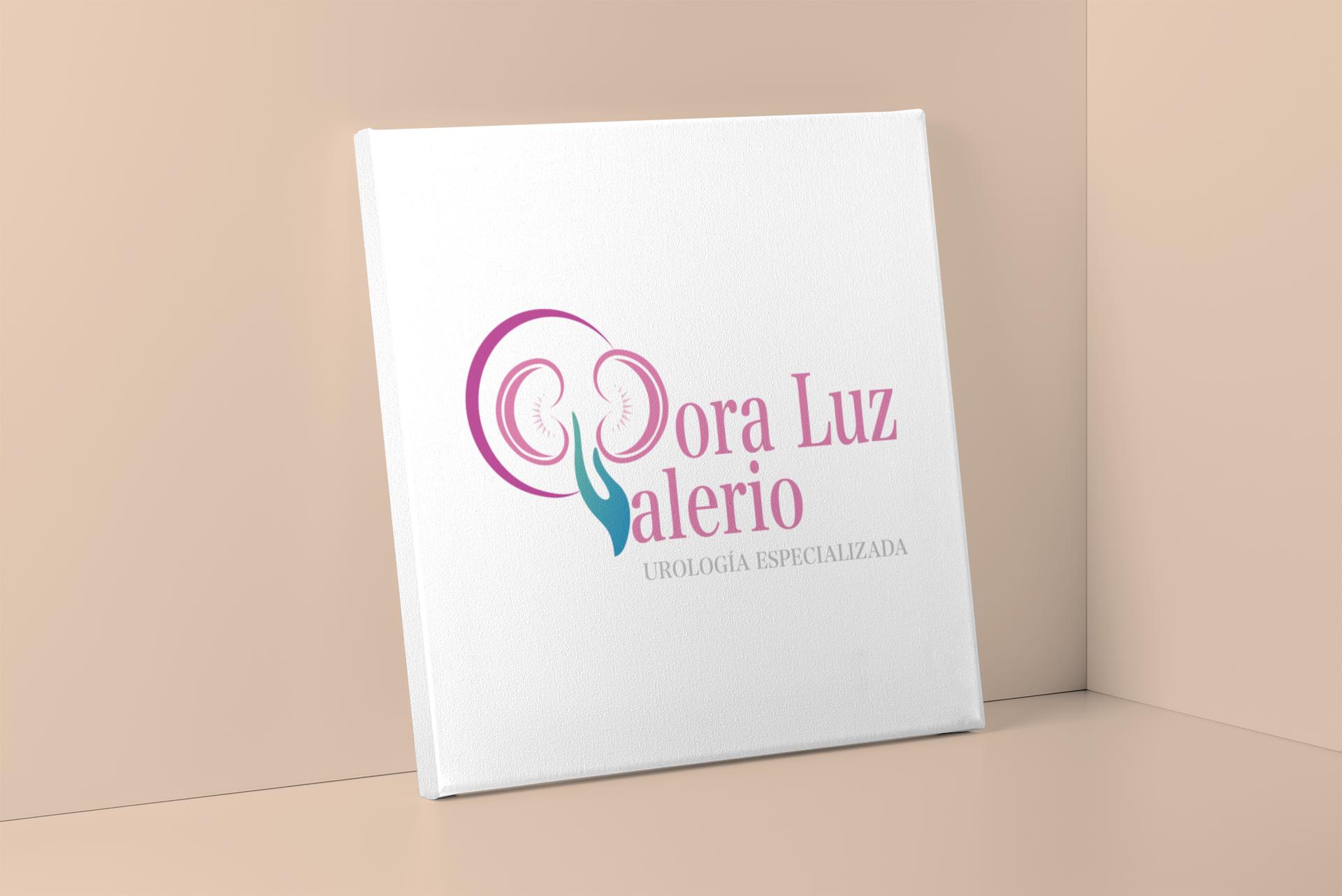 Diseño Logotipo - Dr. Dora Luz Valerio.