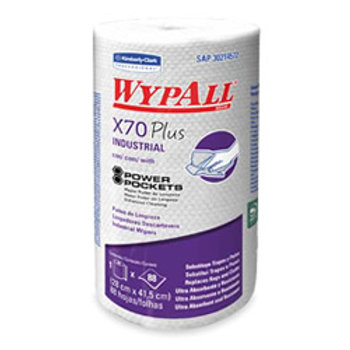Wypall X-70 - Rollo x 88 hojas de 42 x 28 cm.