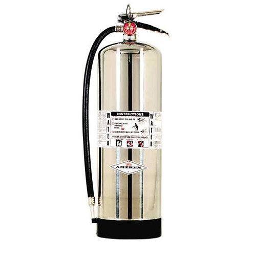 Extintores de Agua Presurizada
