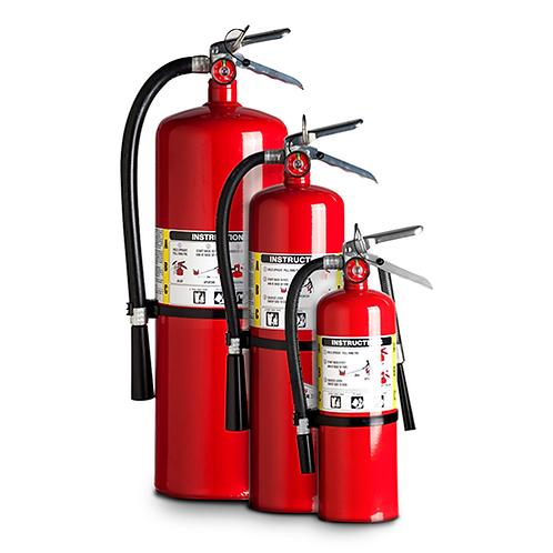 Extintores PQS