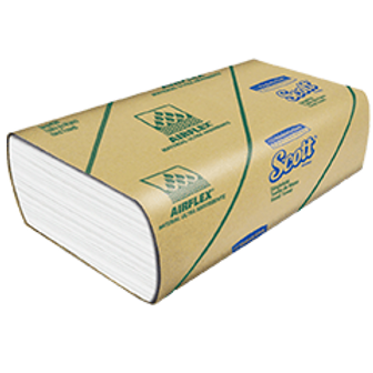 Papel toalla Airflex Scott multifolder 8 x 175 hojas de 21gr.