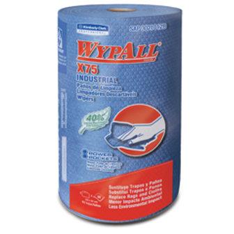 Wypall X-75 - Rollo x 60 hojas de 42 x 28 cm.