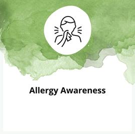 Allergy Awareness Training