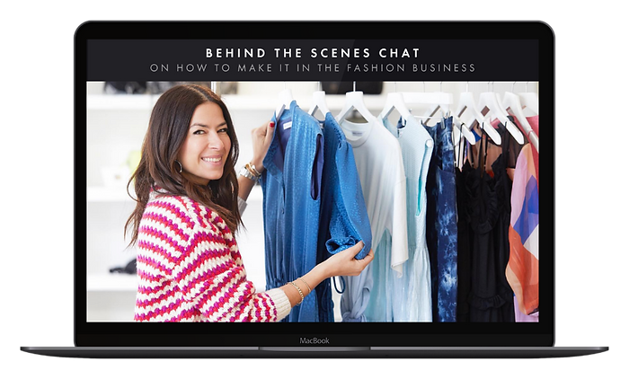 Behind the Scenes Chat - Macbook Mockup