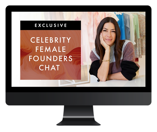 Celebrity Female Founders Chat - iMac Mo