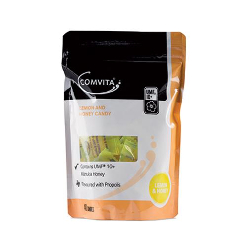 COMVITA Propolis Candy - Lemon & Honey  Contains Manuka UMF 10+ 40 pack