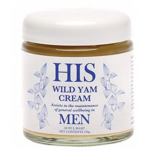 ANNA'S Wild Yam Cream (His)  Mntnce Of General Wellbeing 100g