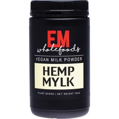 EM WHOLEFOODS Hemp Mylk  Vegan Milk Powder 750g