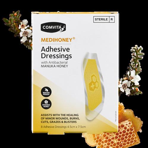 COMVITA Medihoney  Adhesive Dressings - Large 8