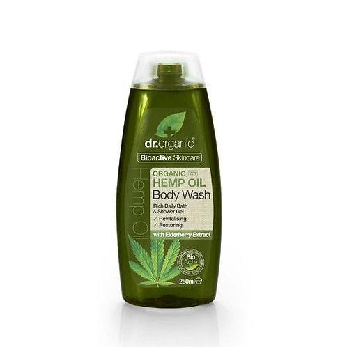 DR ORGANIC Body Wash  Organic Hemp Oil 250ml