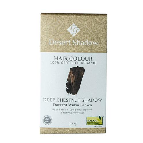 Desert Shadow Organic Hair Dye - Deep Chestnut Shadow 100g