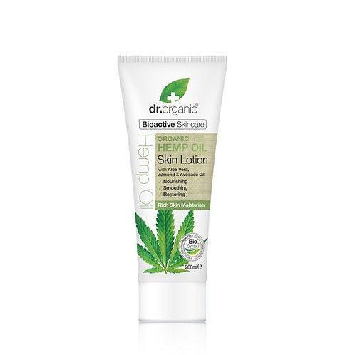 DR ORGANIC Skin Lotion  Organic Hemp Oil 200ml