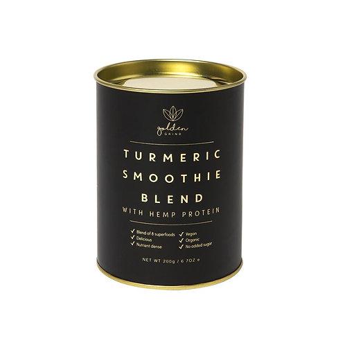 GOLDEN GRIND Turmeric Super Smoothie Blend  With Hemp Protein 200g