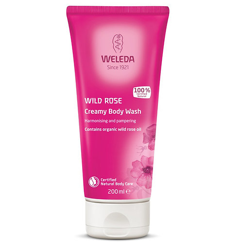 Wild Rose Creamy Body Wash, 200ml