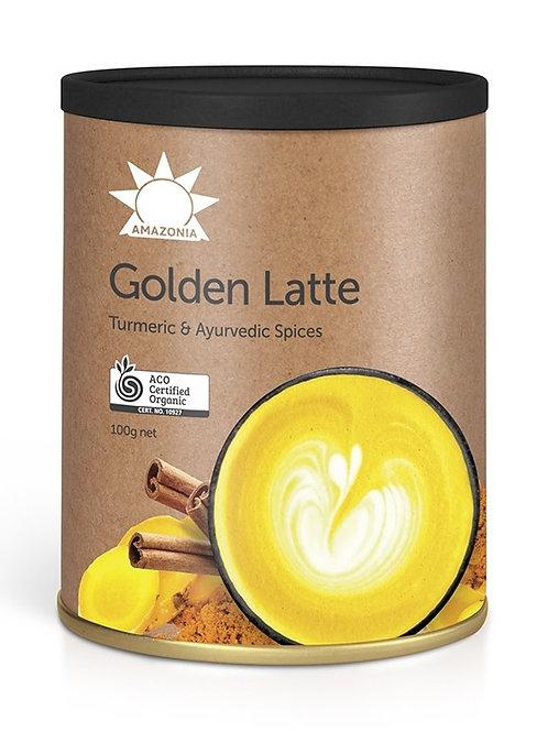 AMAZONIA Golden Latte  Turmeric & Ayurvedic Spices 100g