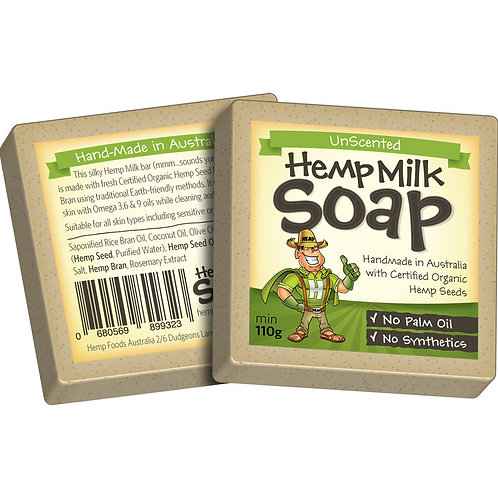 Hemp Milk Soap - Unscented
