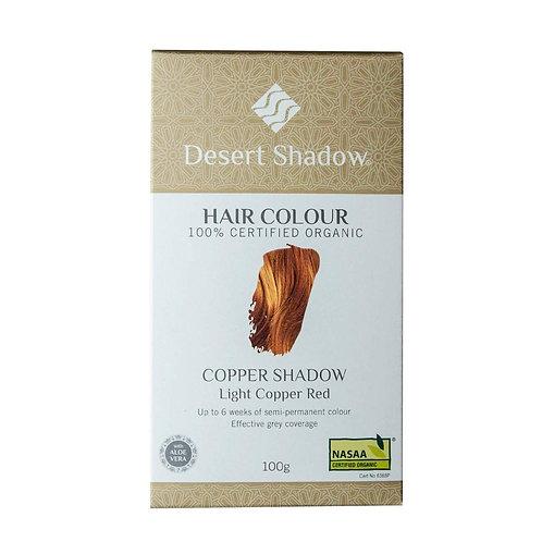 Desert Shadow Organic Hair Dye - Copper Shadow 100g Light Copper Red
