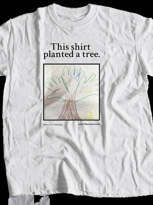 Plan a tree Erwachsenen Shirt