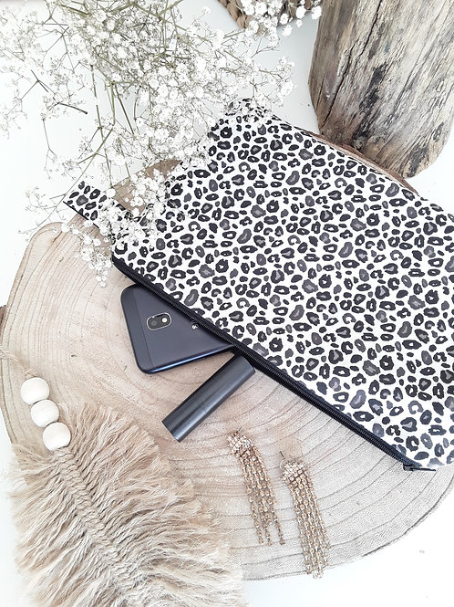 Pochette imprime leopard