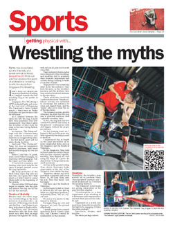 Cover Photo, Sports Section