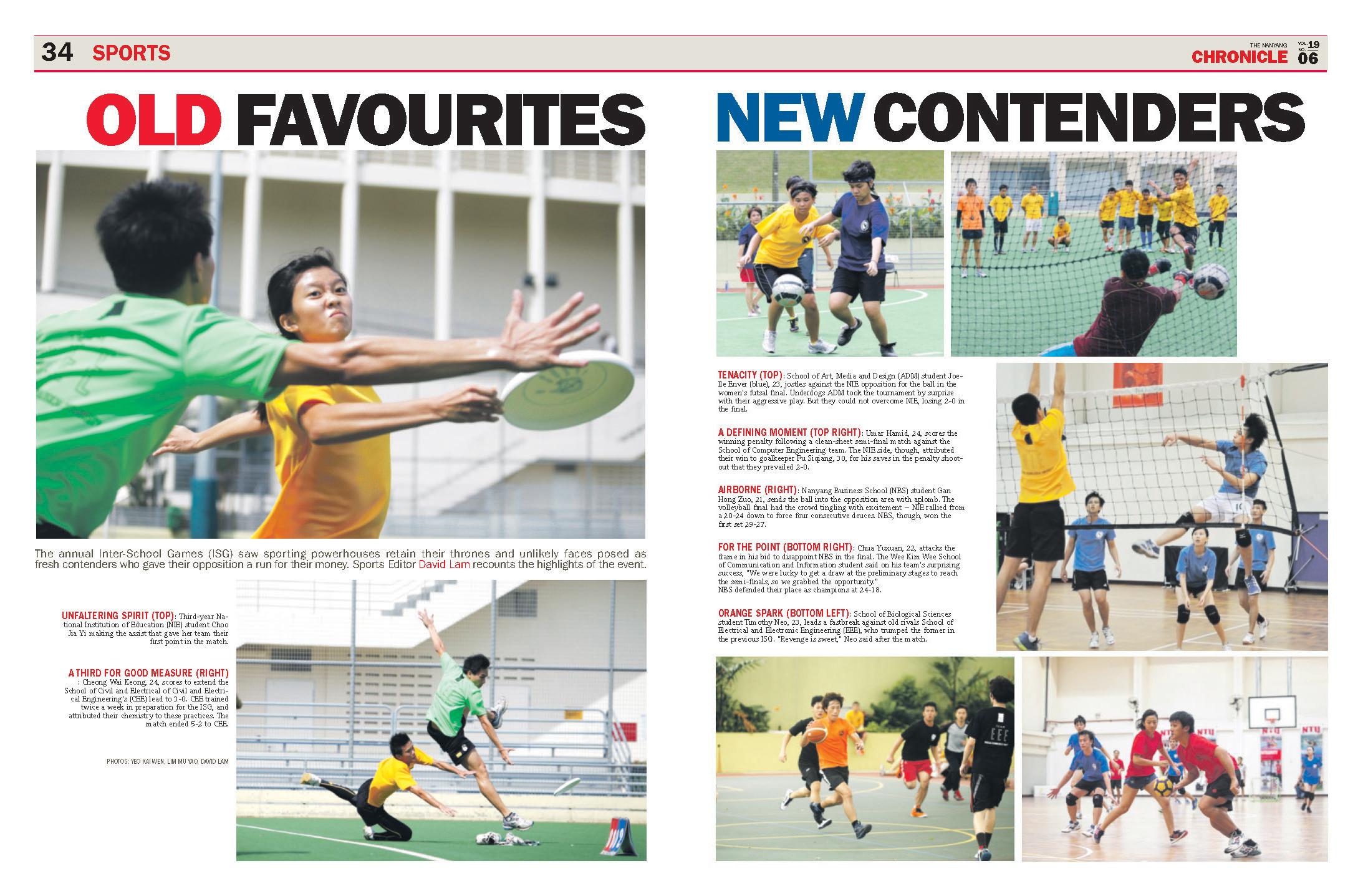 Sports Photo Essay