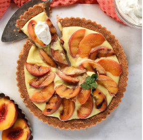 Menus and Memories of the Life of a Food Stylist: Peach Season Tart