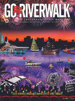 Go Riverwalk Seminole Hardrock Winterfest Boat Parade 2019