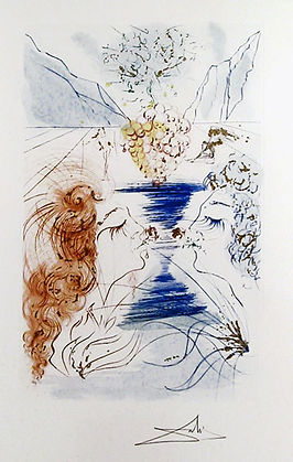 "Salvador Dali ""Let him Kiss Me"" from Song of Songs Suite"